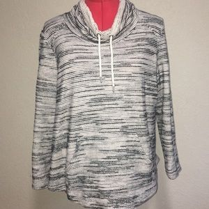 Style & Co cowl neck sweater size petite medium